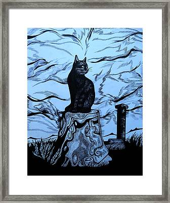 The Guard Of Ancient City. Turkey Framed Print