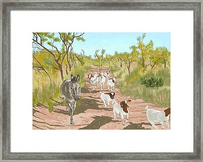 The Guardian Framed Print by Carole Boyd