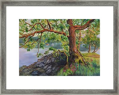 The Guardian Framed Print by Leslie Redhead