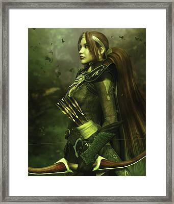 The Guardian Framed Print by Melissa Krauss