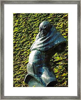 The Guardian Of The Garden Framed Print by Garth Glazier