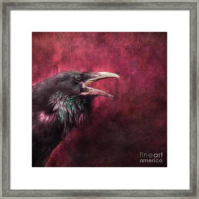 The Guardian Framed Print by Priska Wettstein