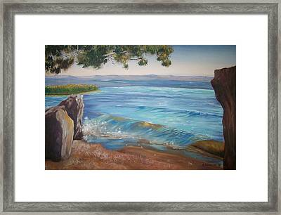 The Guardian Framed Print by Ron Bowles
