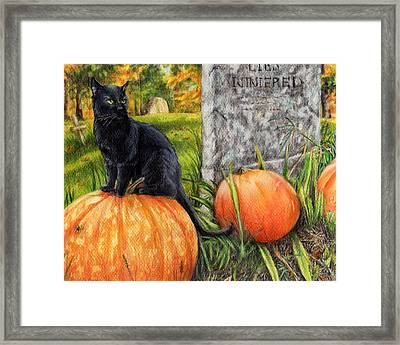 The Guardian Framed Print by Shana Rowe Jackson