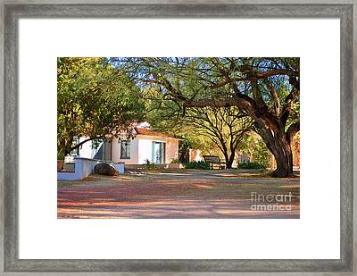 The Guest House  Framed Print by Donna Greene