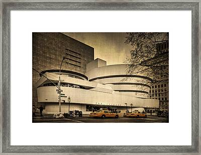 The Guggenheim Framed Print