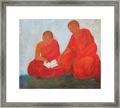The Guide Framed Print by Neena Alapatt