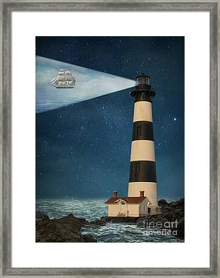 Framed Print featuring the photograph The Guiding Light by Juli Scalzi
