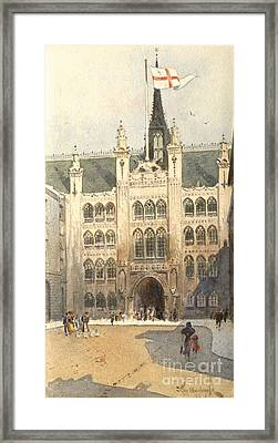 The Guildhall Framed Print by MotionAge Designs