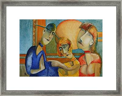 The Guilty Framed Print by Gyorgy Szilagyi