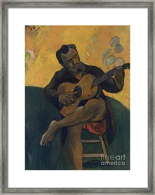 The Guitarist Framed Print
