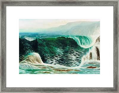 The Gulf Framed Print by Brett McGrath