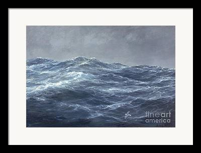 Turbulent Skies Paintings Framed Prints