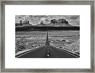 Framed Print featuring the photograph The Gump Stops Here by Darren White