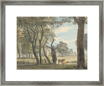 The Gunpowder Magazine, Hyde Park Framed Print