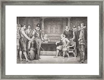 The Gunpowder Plot. Guy Fawkes Framed Print by Vintage Design Pics
