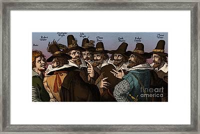 The Gunpowder Rebellion, 1605 Framed Print