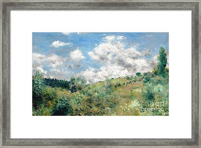 The Gust Of Wind Framed Print