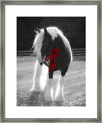 The Gypsy Gift Framed Print by Terry Kirkland Cook