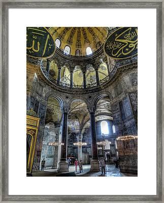 The Hagia Sophia Framed Print