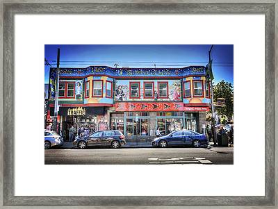 The Haight - Burger Urge - San Francisco Framed Print