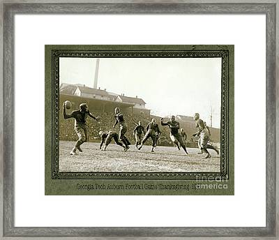The Hail Mary Framed Print