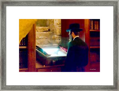 The Hall Of Prayer Framed Print