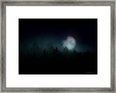 The Hallowed Moon Framed Print