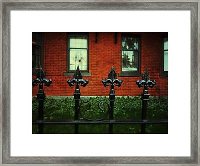 The Halloween Mystery Framed Print by Connie Handscomb
