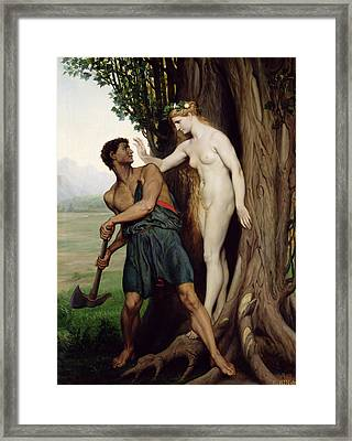 The Hamadryad Framed Print by Emile Bin