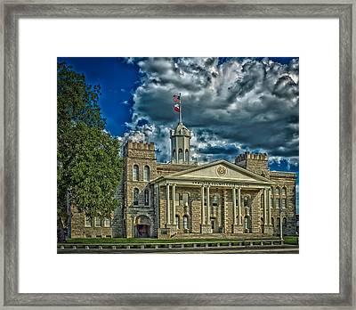The Hamilton County Courthouse - Texas Framed Print by Mountain Dreams