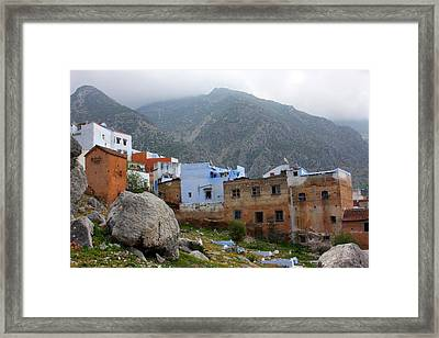 The Hamptons Of Morocco Framed Print by Jason Hochman