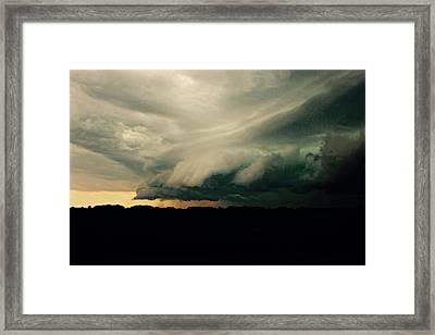 The Hand Of God Framed Print by Brian Sereda