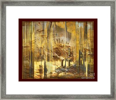 The Hands Of Time Framed Print by Chuck Brittenham