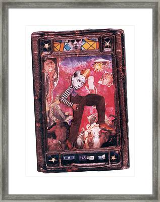 The Hanged Man - Tarot Card Framed Print by Max Scratchmann
