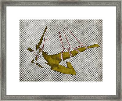 The Hanging Girl I Framed Print by Sandra Hoefer
