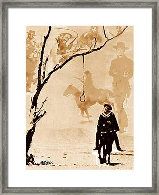 The Hangman's Tree Framed Print by Seth Weaver