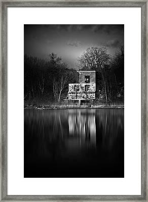 The Hangout Framed Print