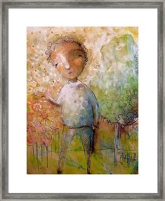 The Happy Boy Framed Print