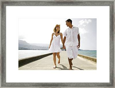 The Happy Couple Framed Print by Kicka Witte - Printscapes