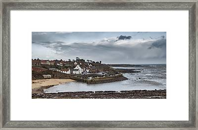 The Harbour Of Crail Framed Print