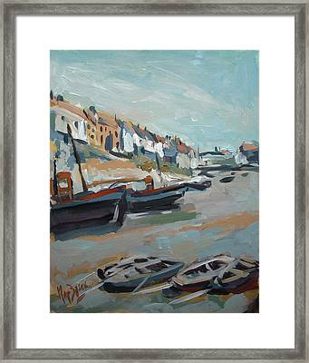 The Harbour Of Mevagissey Framed Print