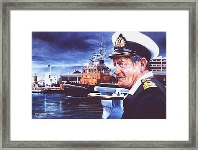 The Harbourmaster Framed Print