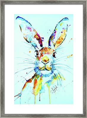 Framed Print featuring the painting The Hare by Steven Ponsford