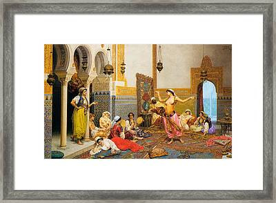 The Harem Dance Framed Print