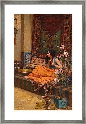 The Harem Framed Print by John William