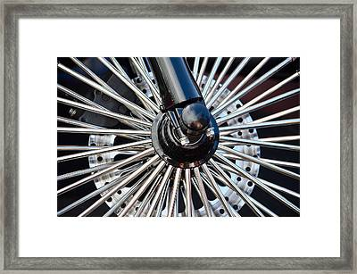 The Harley Has Spoken Framed Print by Anthony Robinson