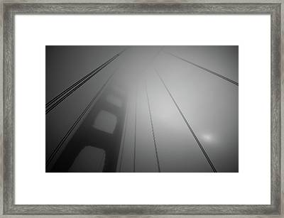 The Harpist's Sun Framed Print by Image By Marc Gutierrez