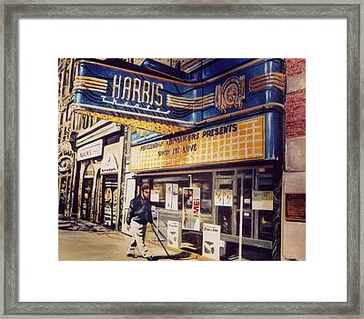 The Harris Theater Framed Print