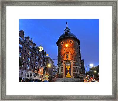 The Harvard Lampoon Harvard Square Cambridge Ma Framed Print